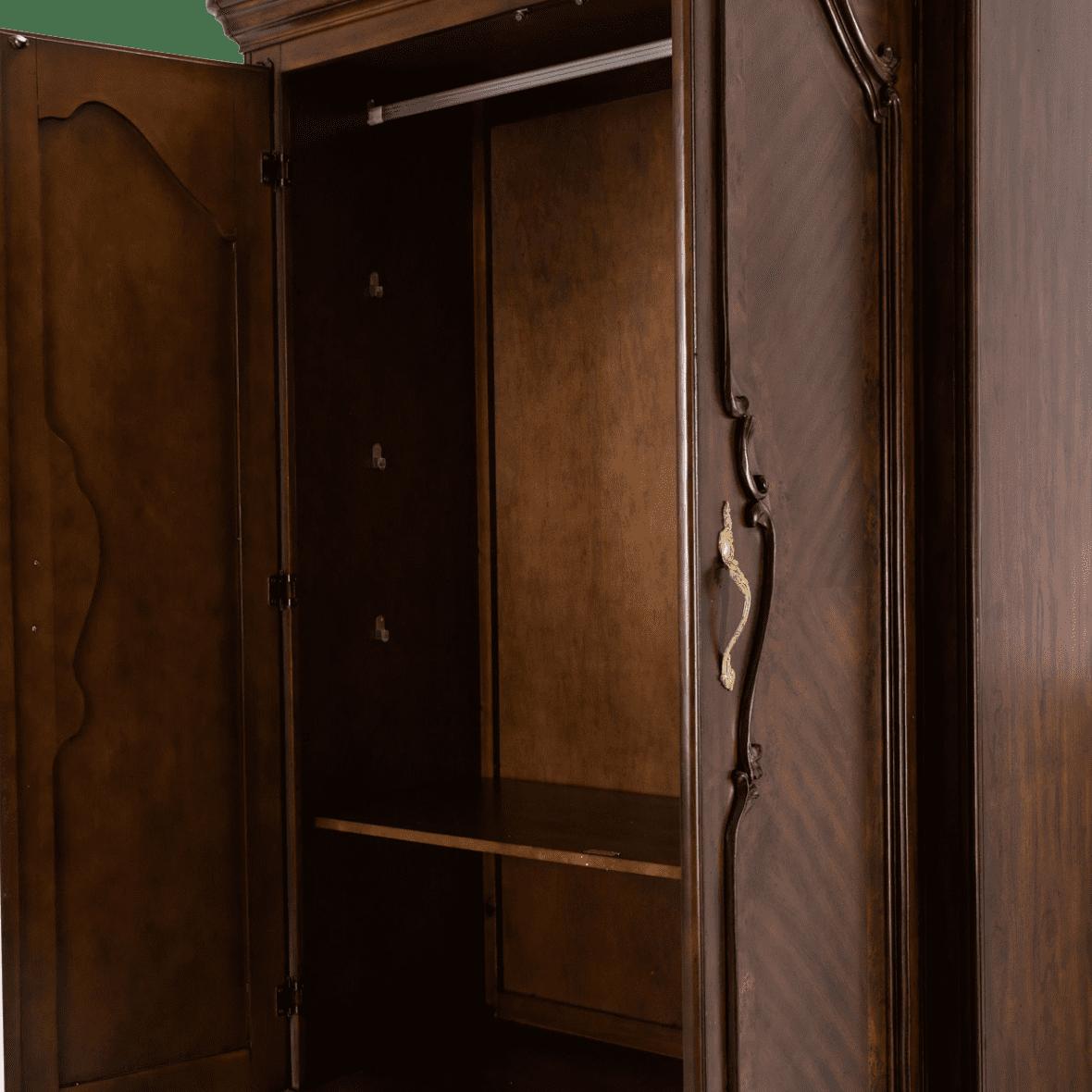 Шкаф для одежды Lt. Espresso с ящиками