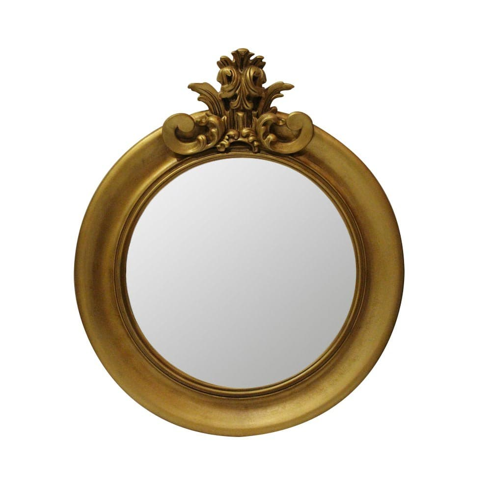 "Зеркало Ar deko rotondo ""gold aged"""