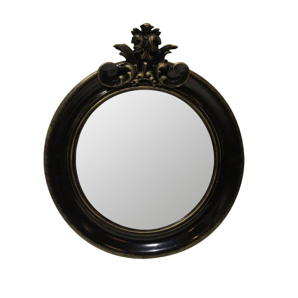 "Зеркало Ar deko rotondo ""black gold"""