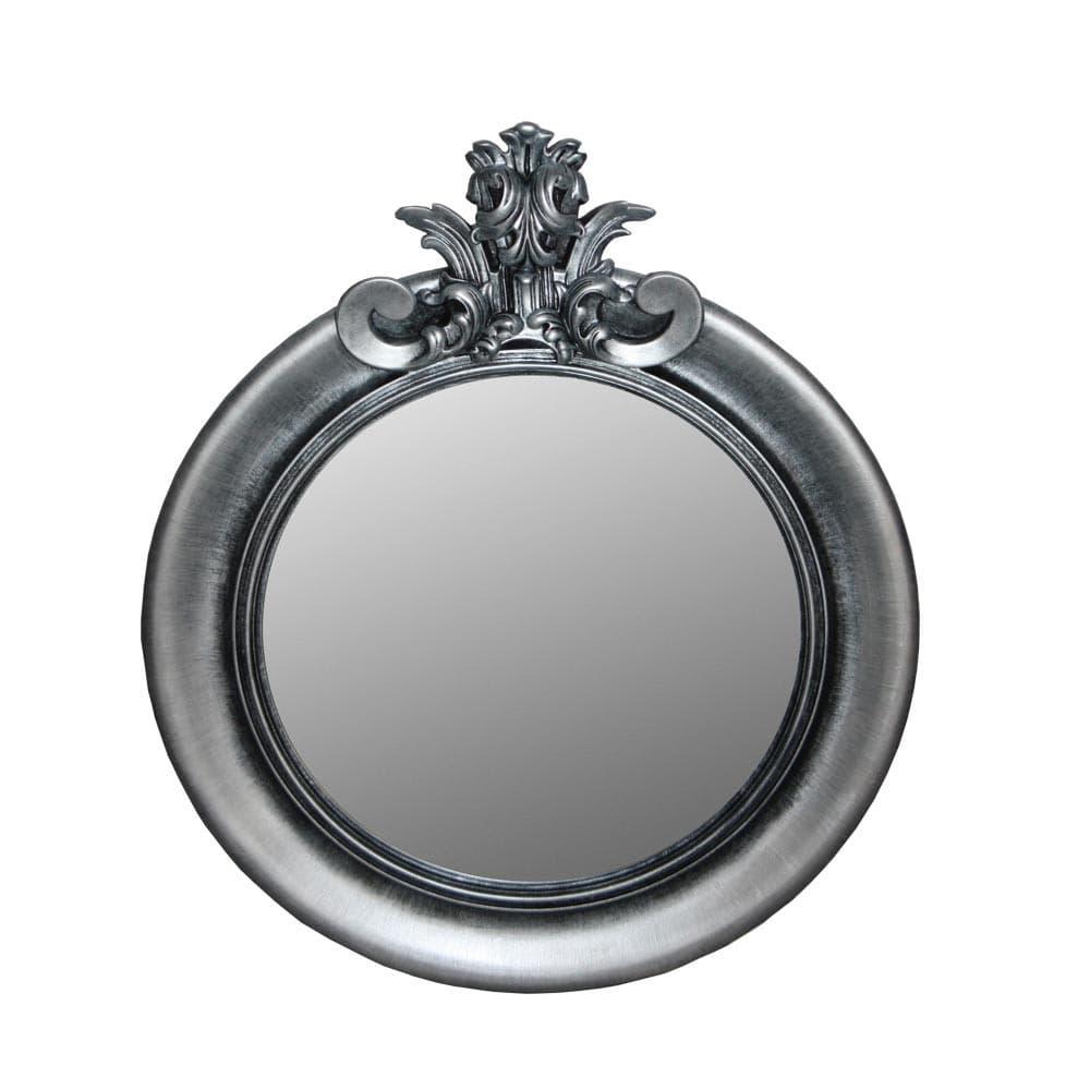 "Зеркало Ar deko rotondo ""black silver"""
