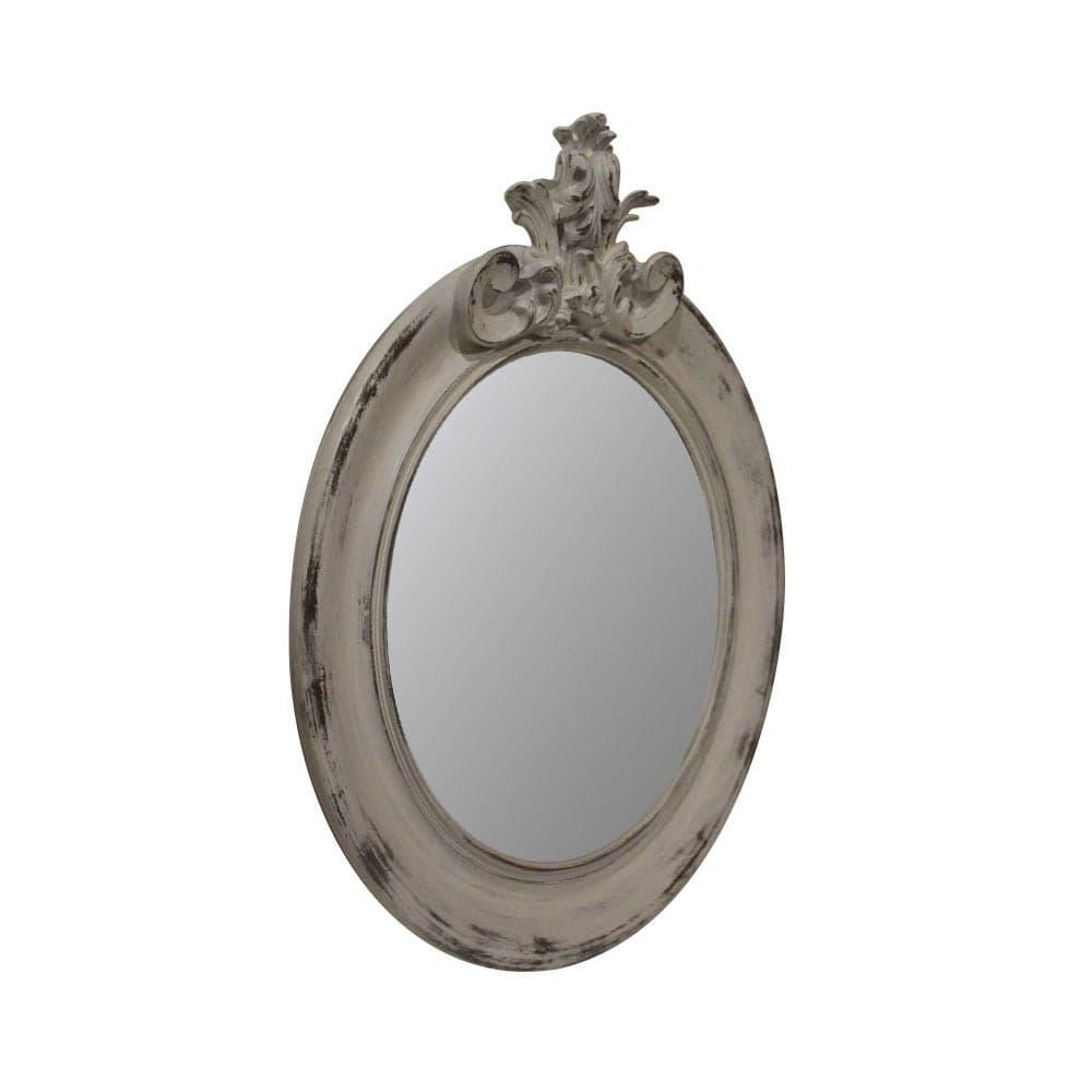 "Зеркало Ar deko rotondo ""white vintage"""