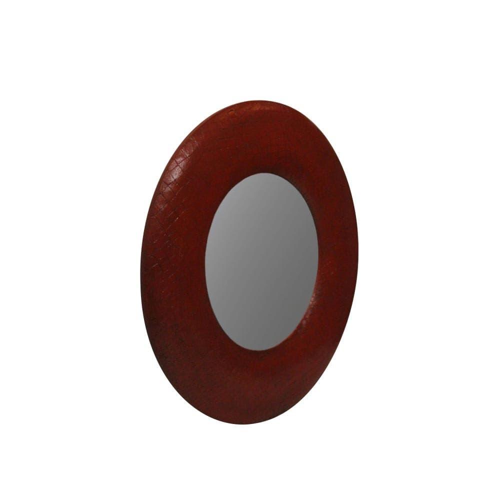 """Зеркало CrocoS """"red crocos"""""""