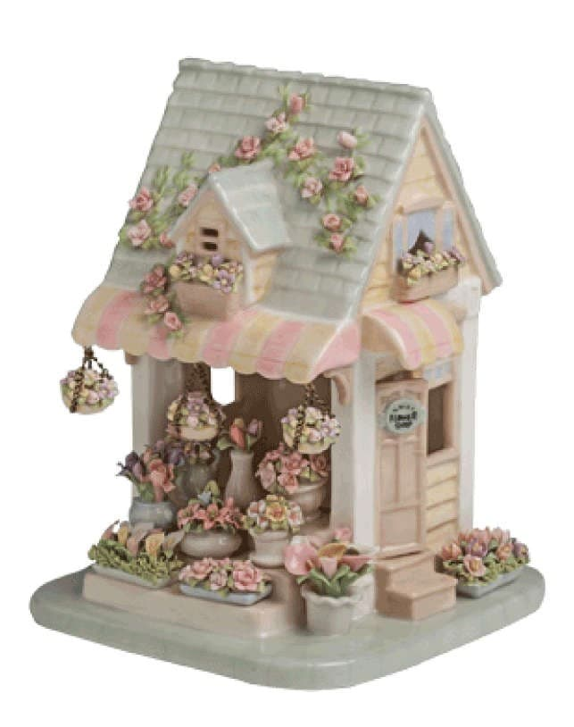 Фигурная фарфоровая пластика Sweet Home