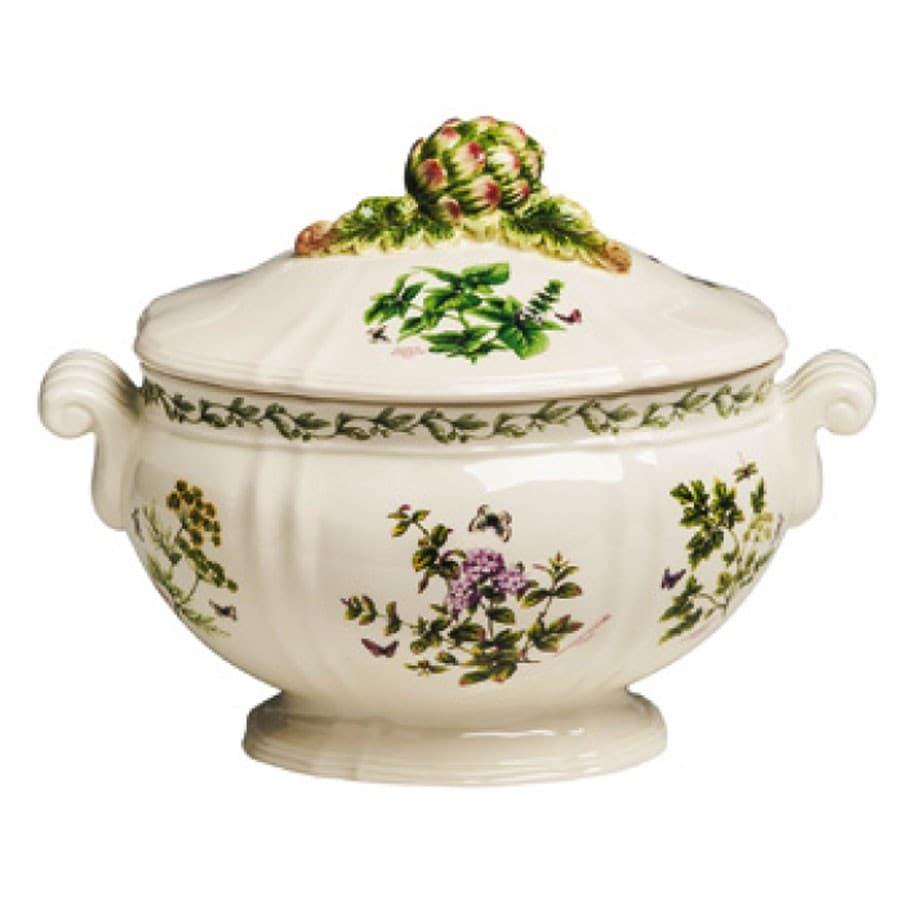 Супница с крышкой в тосканском стиле