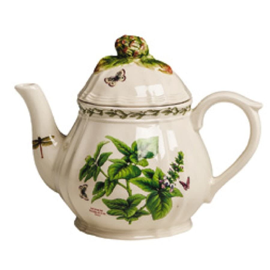 Чайник, ручная роспись деталей