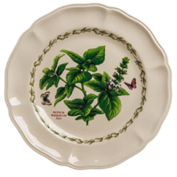 Тарелка столовая, ручная роспись