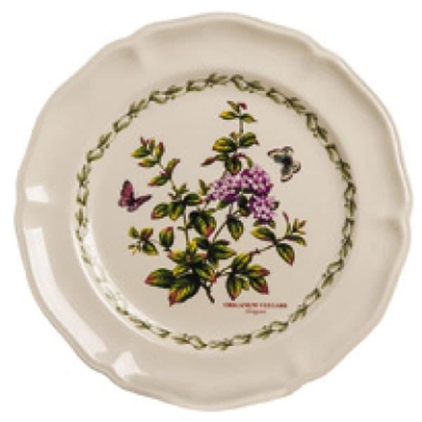 Тарелка десертная, ручная роспись