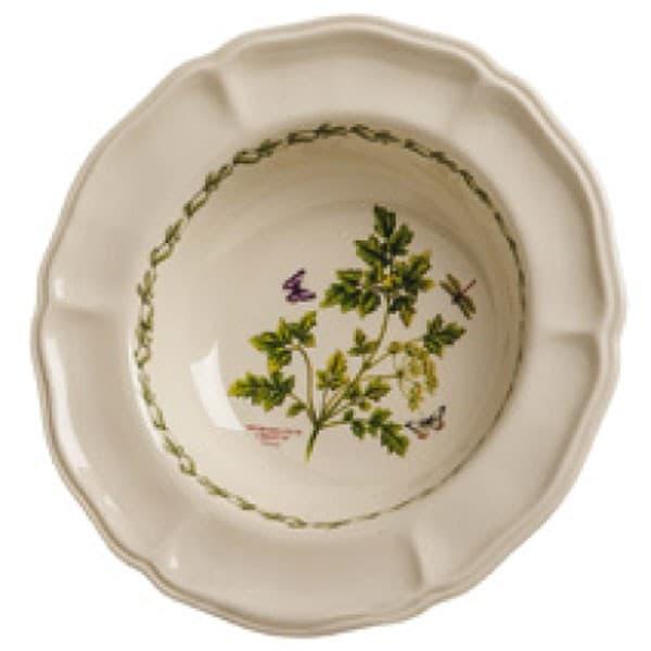 Тарелка суповая, ручная роспись