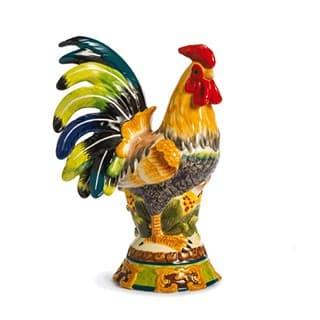 Керамическая декоративная скульптура Петух Le Coq, 26 см