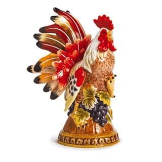 Керамическая декоративная скульптура Петух Le Coq, 24 см