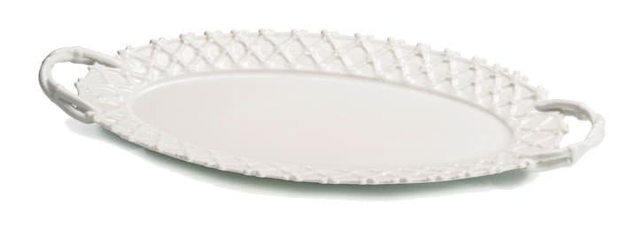Овальное блюдо для пирожных
