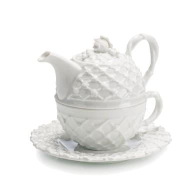 Набор для чая: чашка, блюдце, заварный чайник