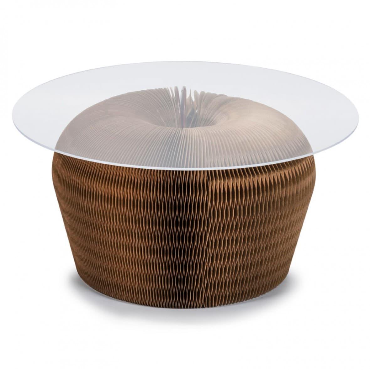 Журнальный столик, коричневый