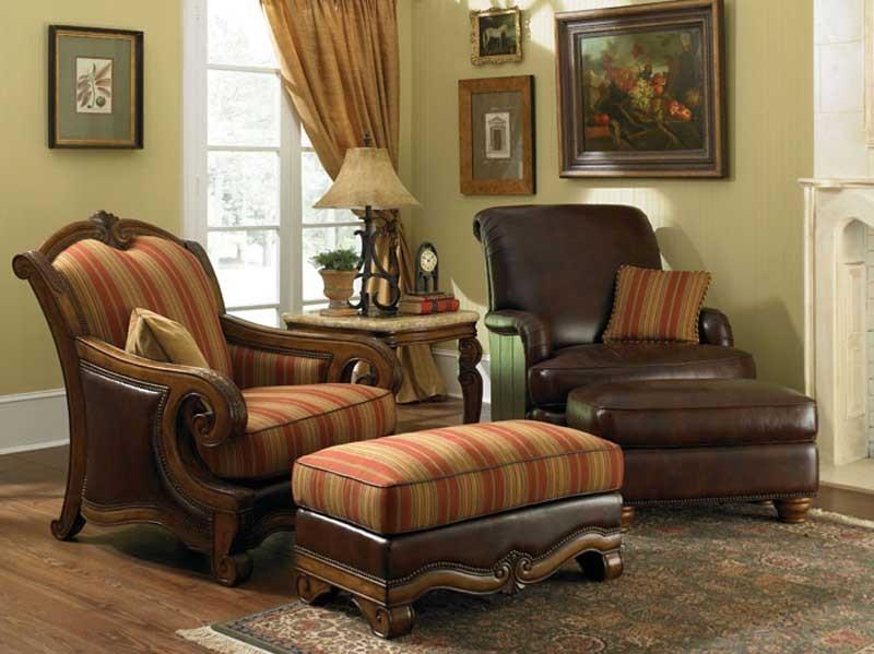 Кресло полуторное комбинированные сиденья