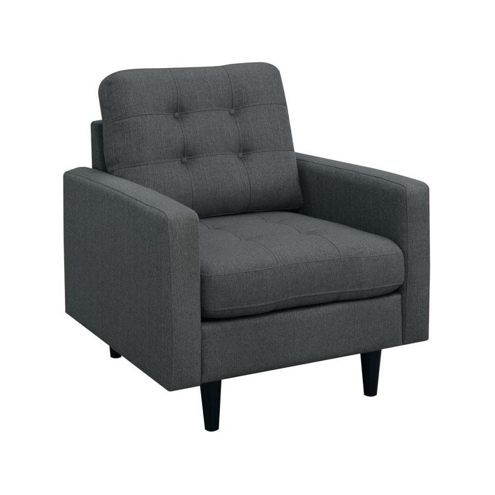 Kesson Кресло  стеганное в стиле модерн Mid-Century