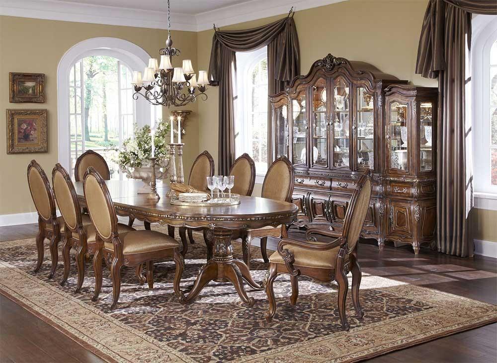 Дворцовый овальный обеденный стол