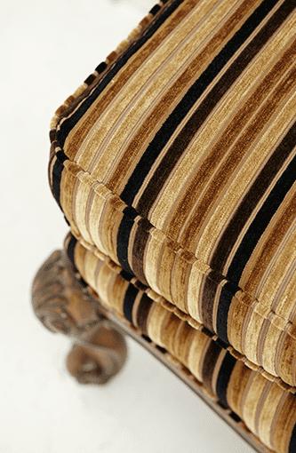 Подставка для ног шоколад/беж