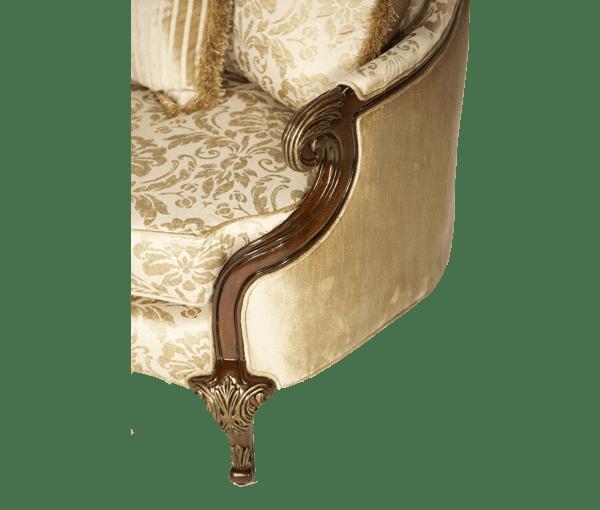 Софа в деревянной раме Champagne