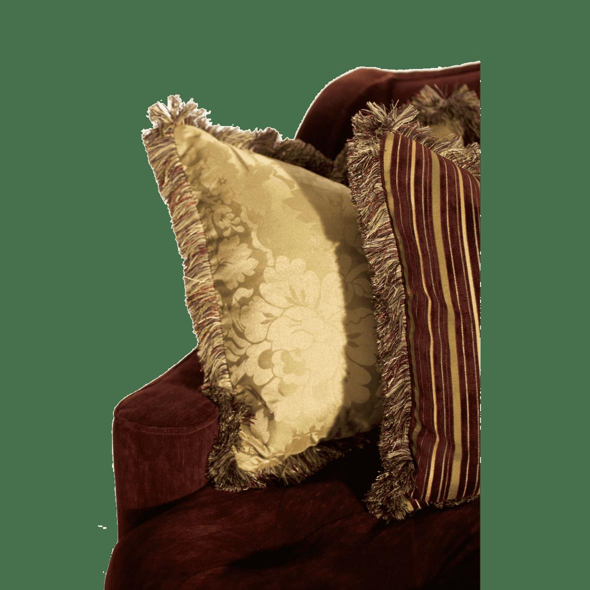 Софа Loveseat, стёганая, обивка Eggplant