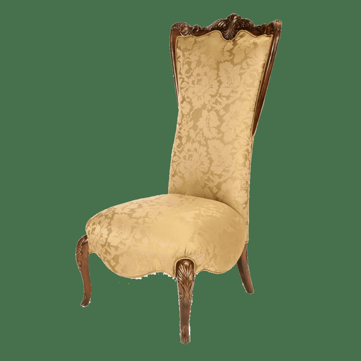 Кресло акцентное с высокой спинкой, Citrus