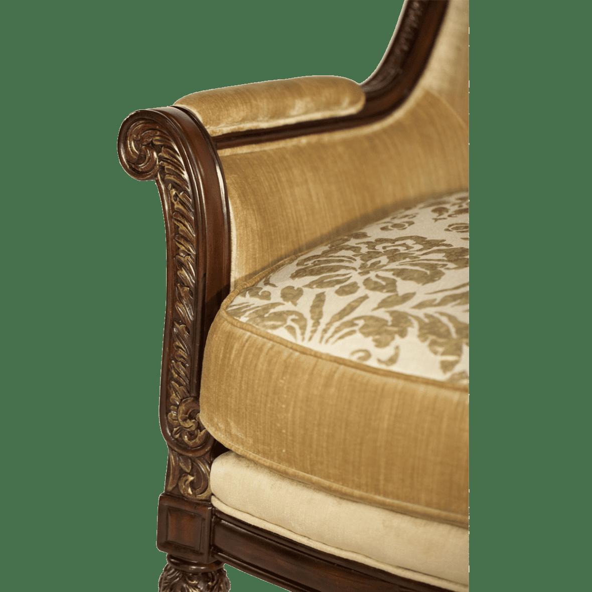 Кресло кабинетное, Champagne