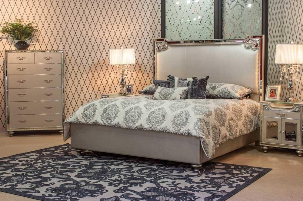Кровать размер Cal. King  цвет Champagne