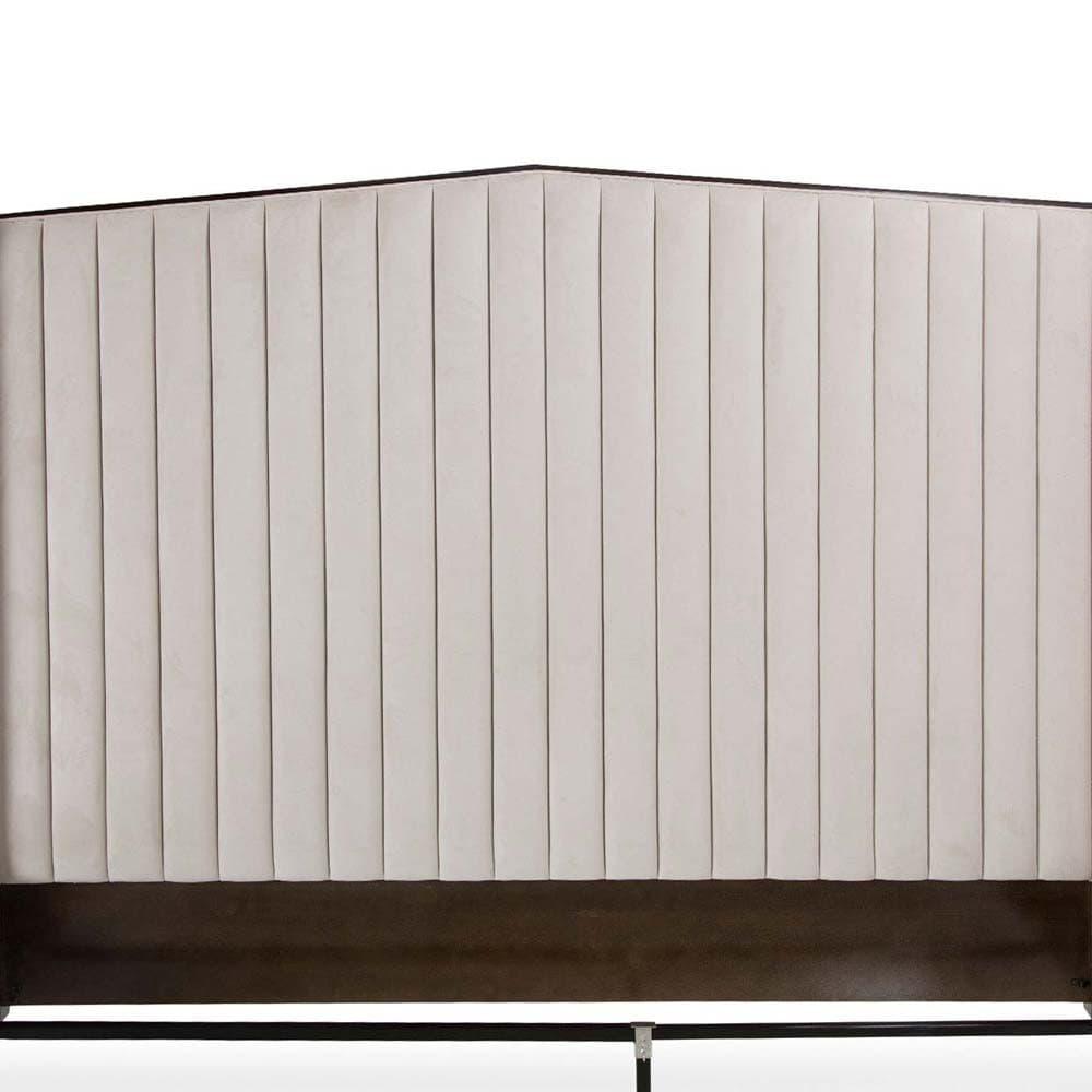 Кровать со строченой панелью, Размер Cal King