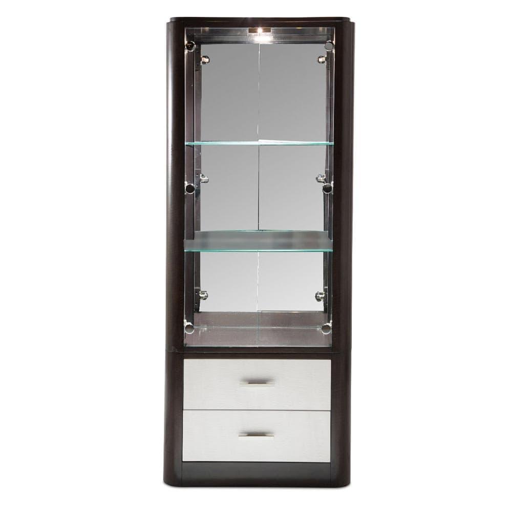 Высокий посудный шкаф/Дисплей-кабинет