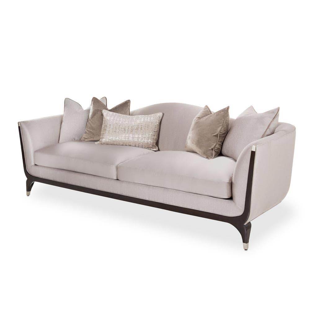 Софа трёхместная с 5 декоративными подушками, TRUFFLE