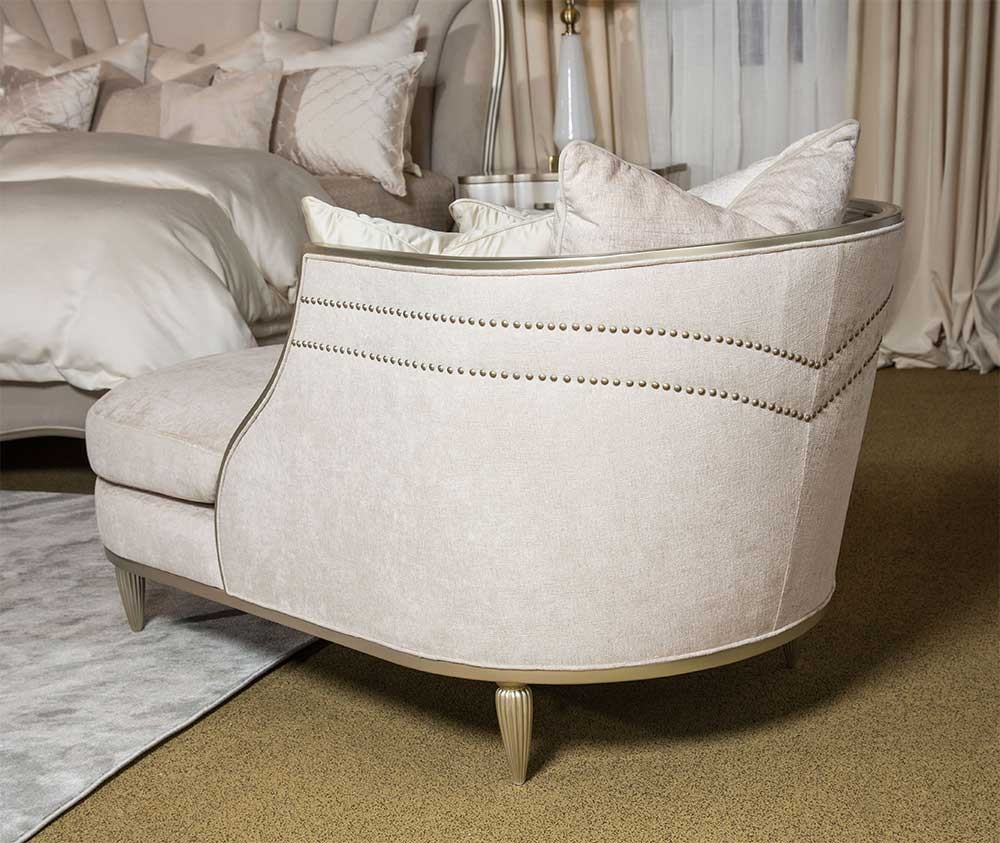 Кресло - лежанка, обивка Parchment (Пергамент)