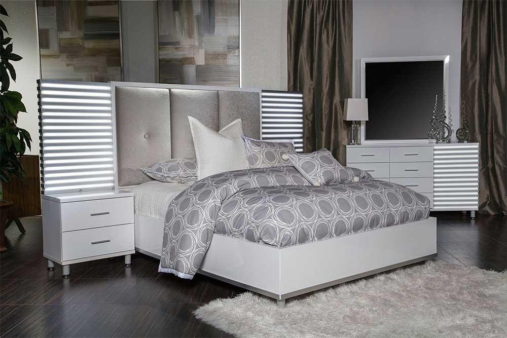 Кровать модульная Cloud White разм. Queen