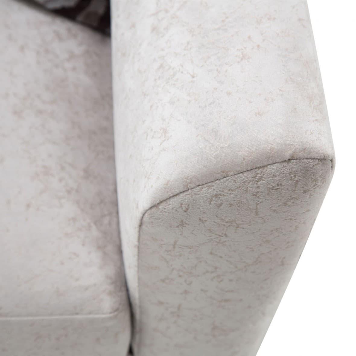 Софа с V-образной спинкой, обивка Dove/Сизый