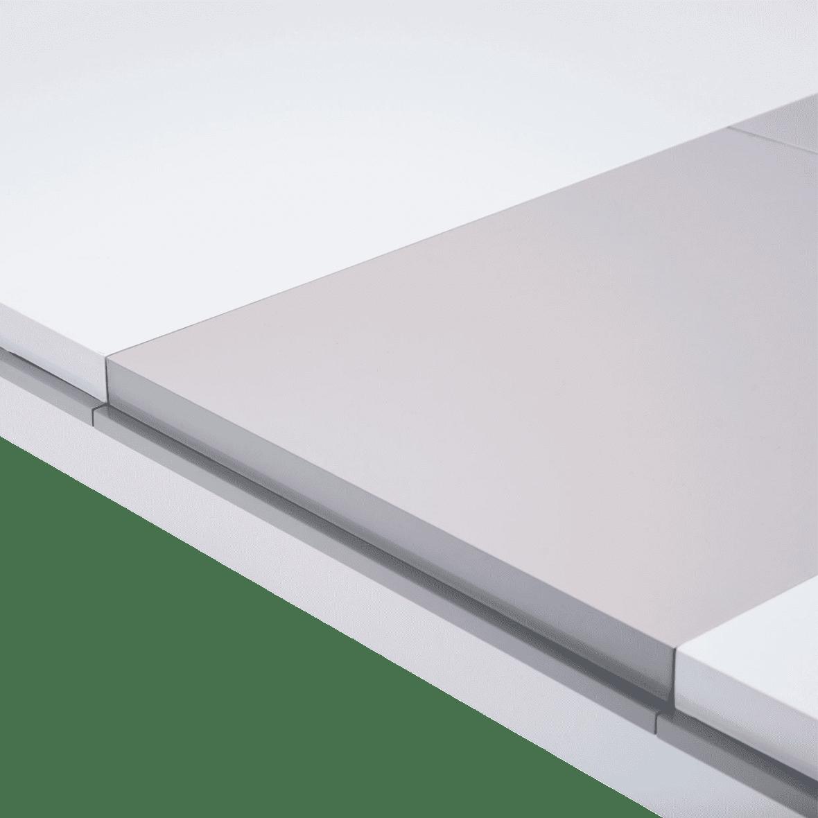 Стол обеденный прямоугольный White Cloud (включая 1 вставку на 44 cm )