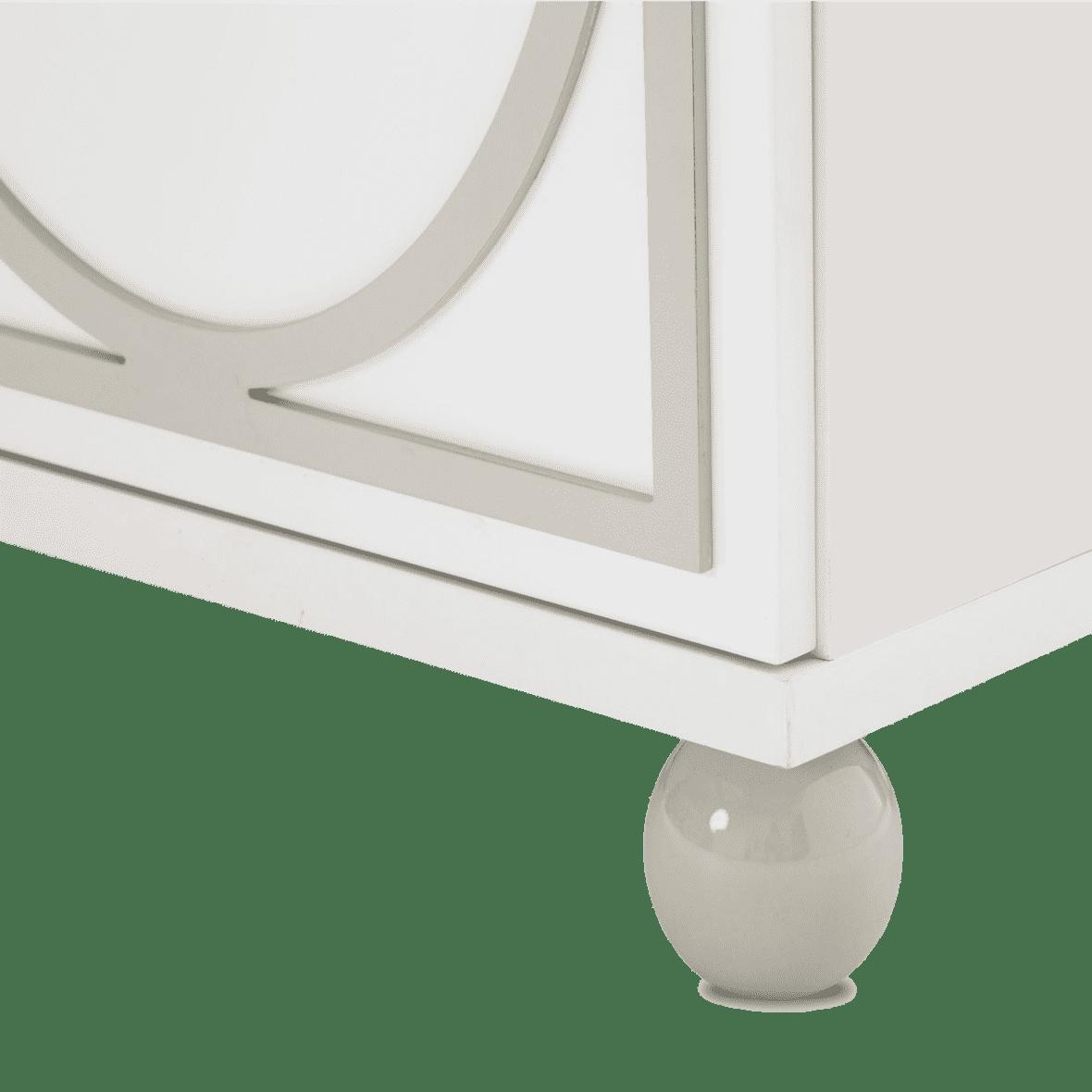 Тумба сервисная для столовой White Cloud