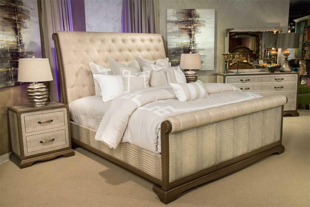 Кровать разм. Queen Амазонский крокодил