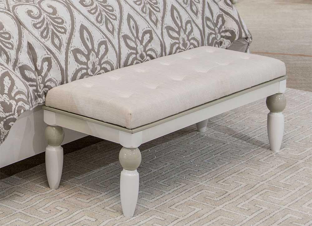 Прикроватная скамейка White Cloud