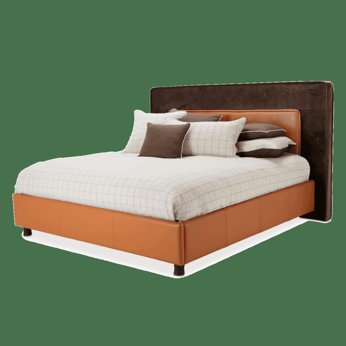 Кровать со стеганым изголовьем Размер Queen
