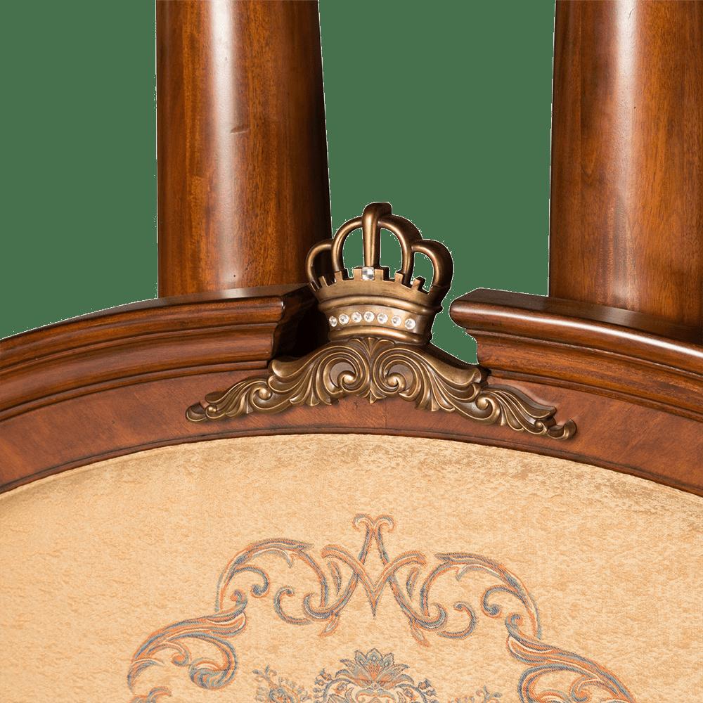 Кровать с полу-балдахином Размер Eastern King
