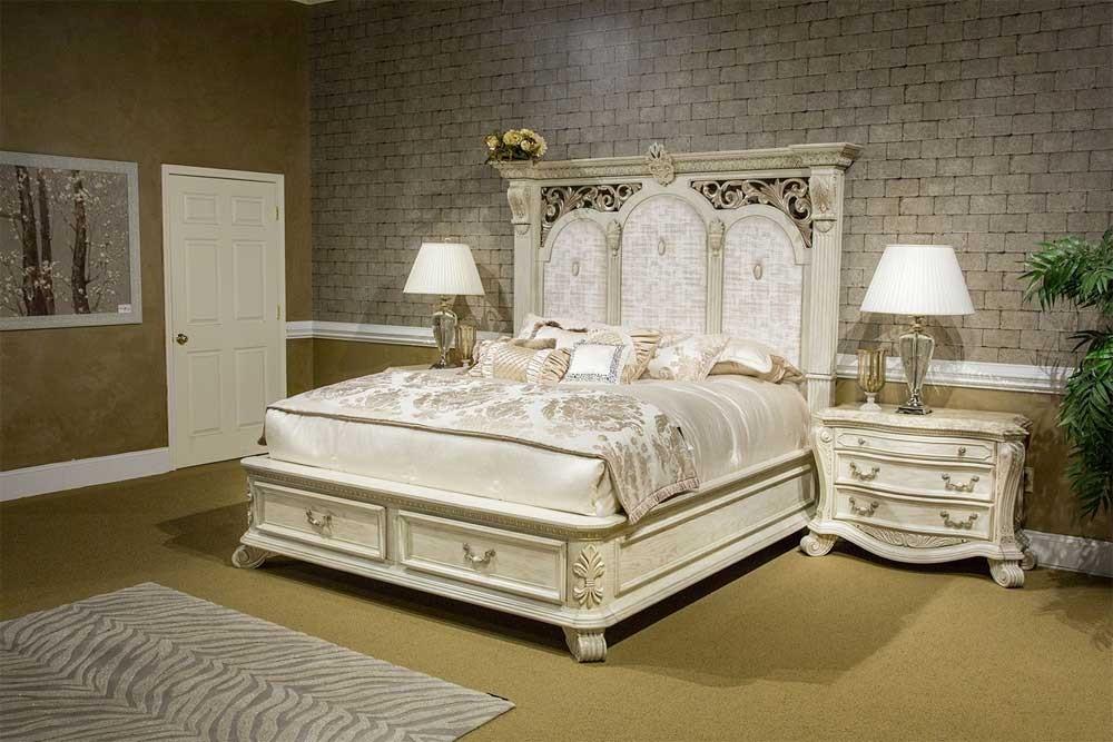 Кровать с ящиками  Moonlight Размер Cal King