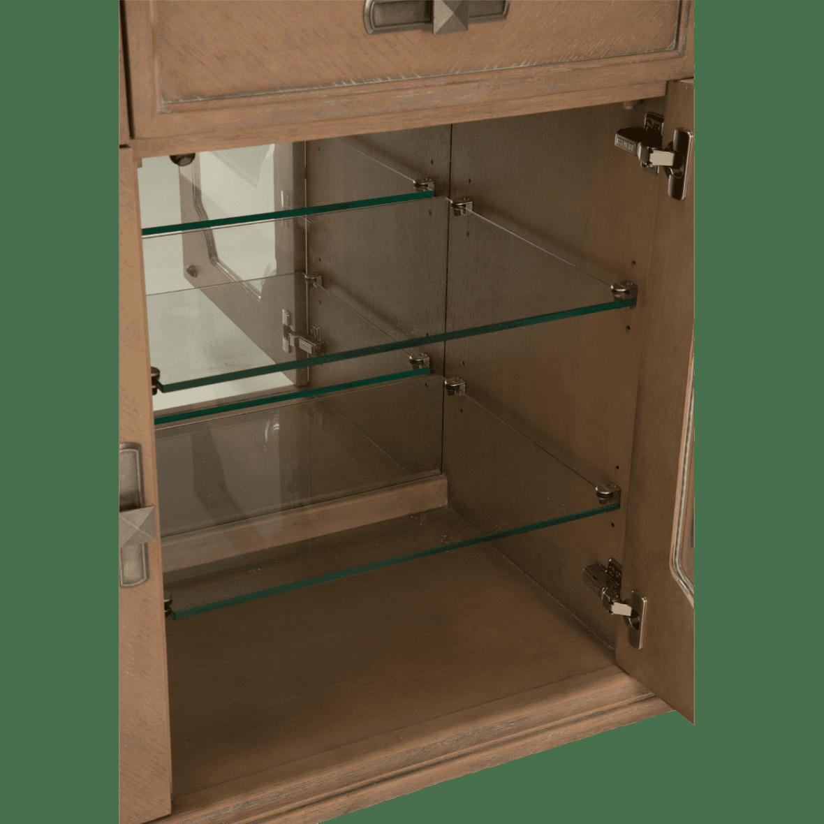 Тумба сервисная с зеркалом для столовой