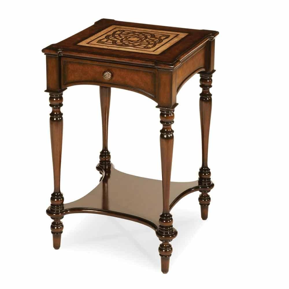 Декоративный столик с ящичком