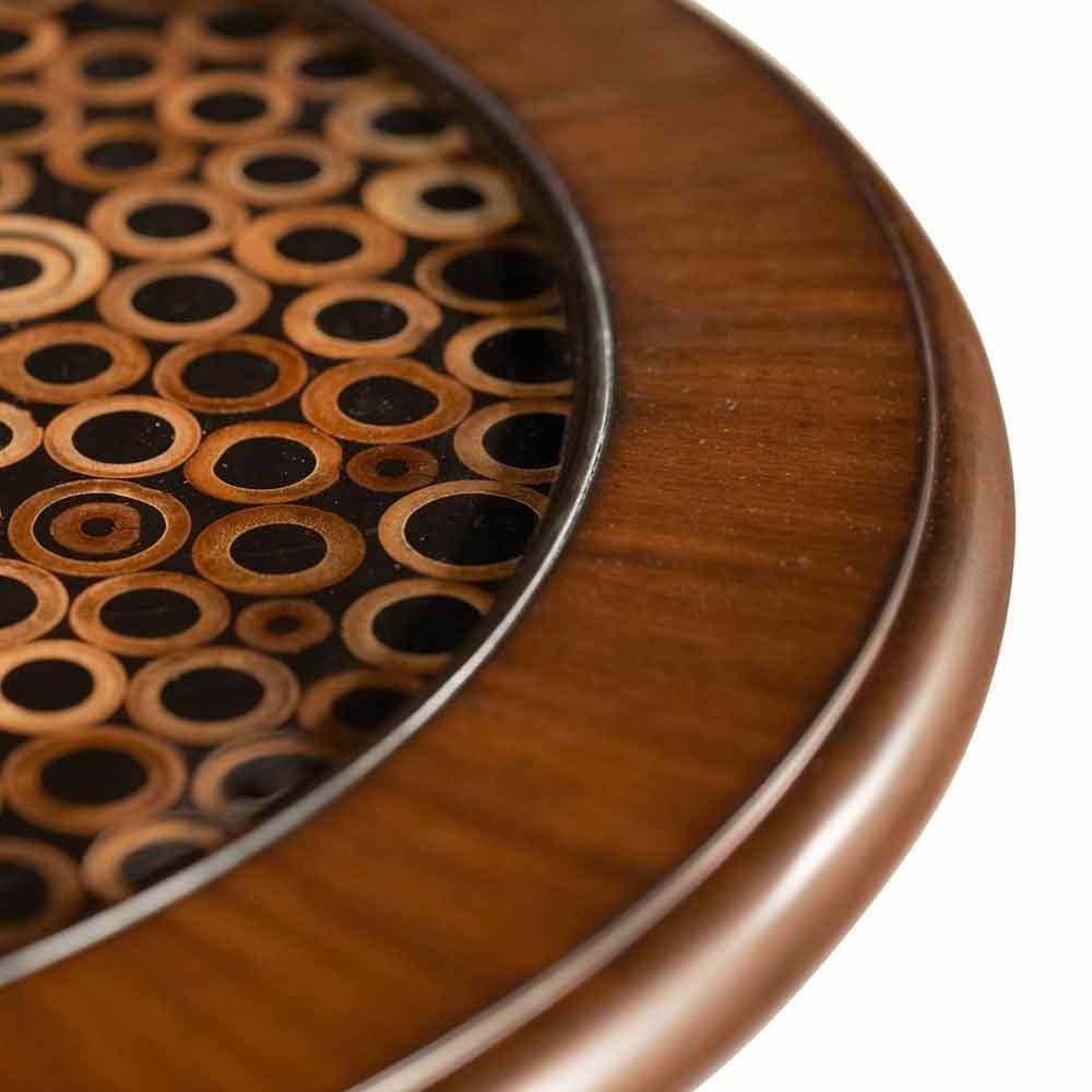 Круглый декоративный столик