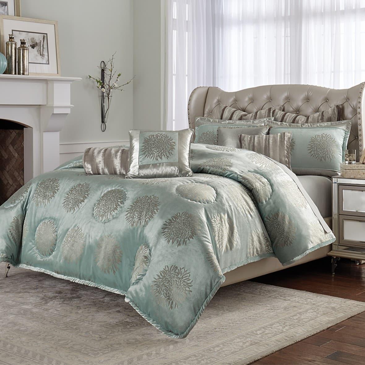 """""""Regent"""", Декоративное покрывало и подушки (Queen)"""