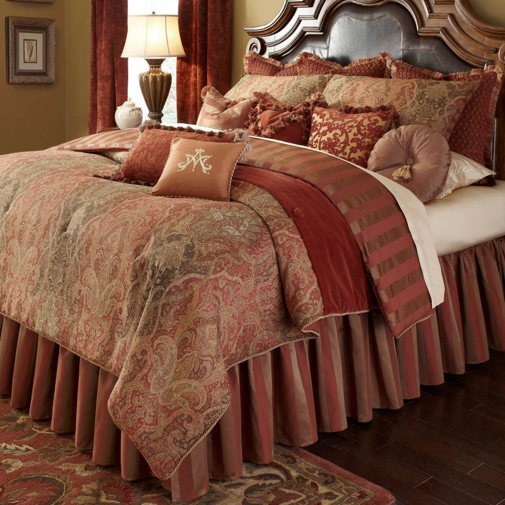 """Woodside Park"", Декоративное покрывало и подушки (Queen)"