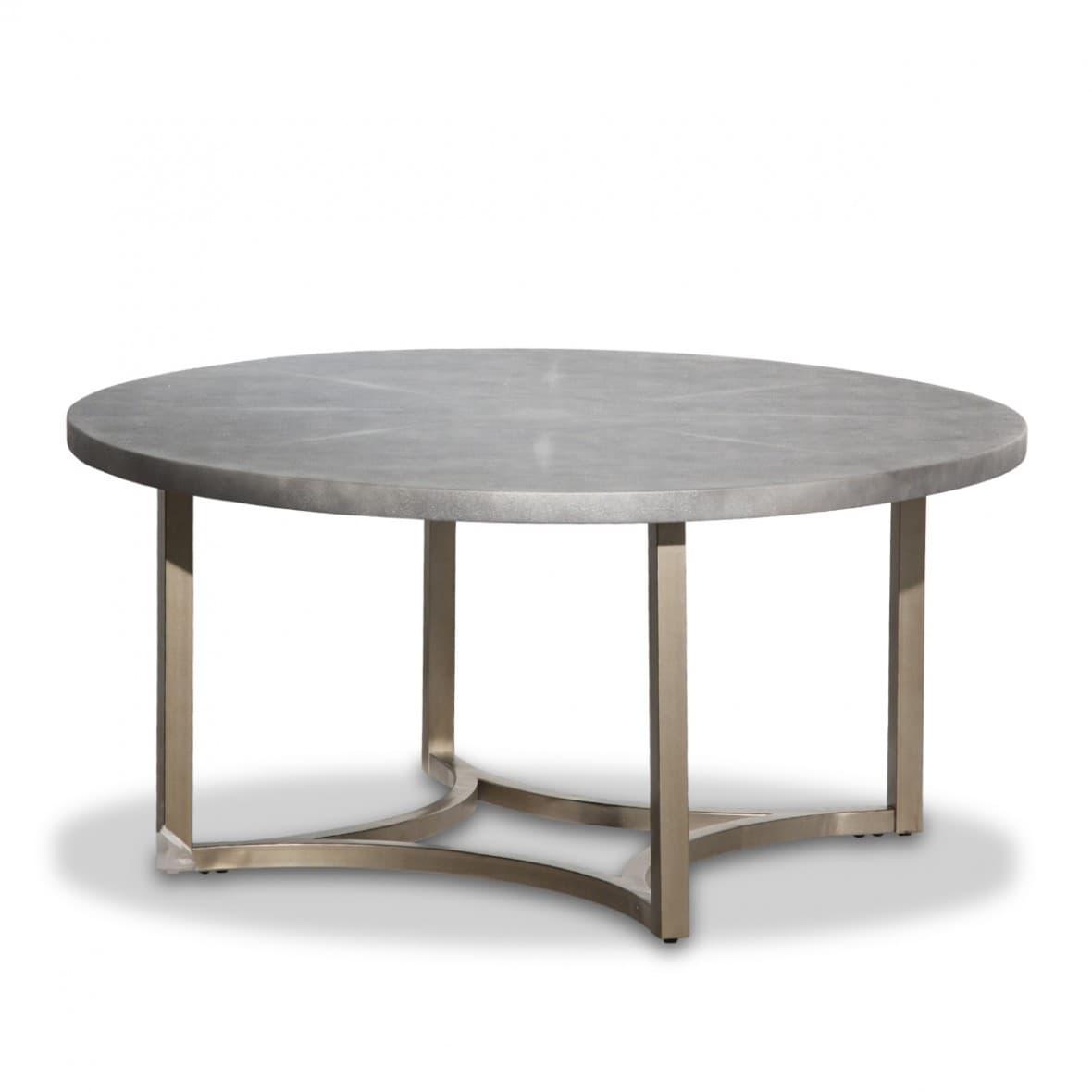Alta Круглый коктейльный стол с верхом серого мрамора