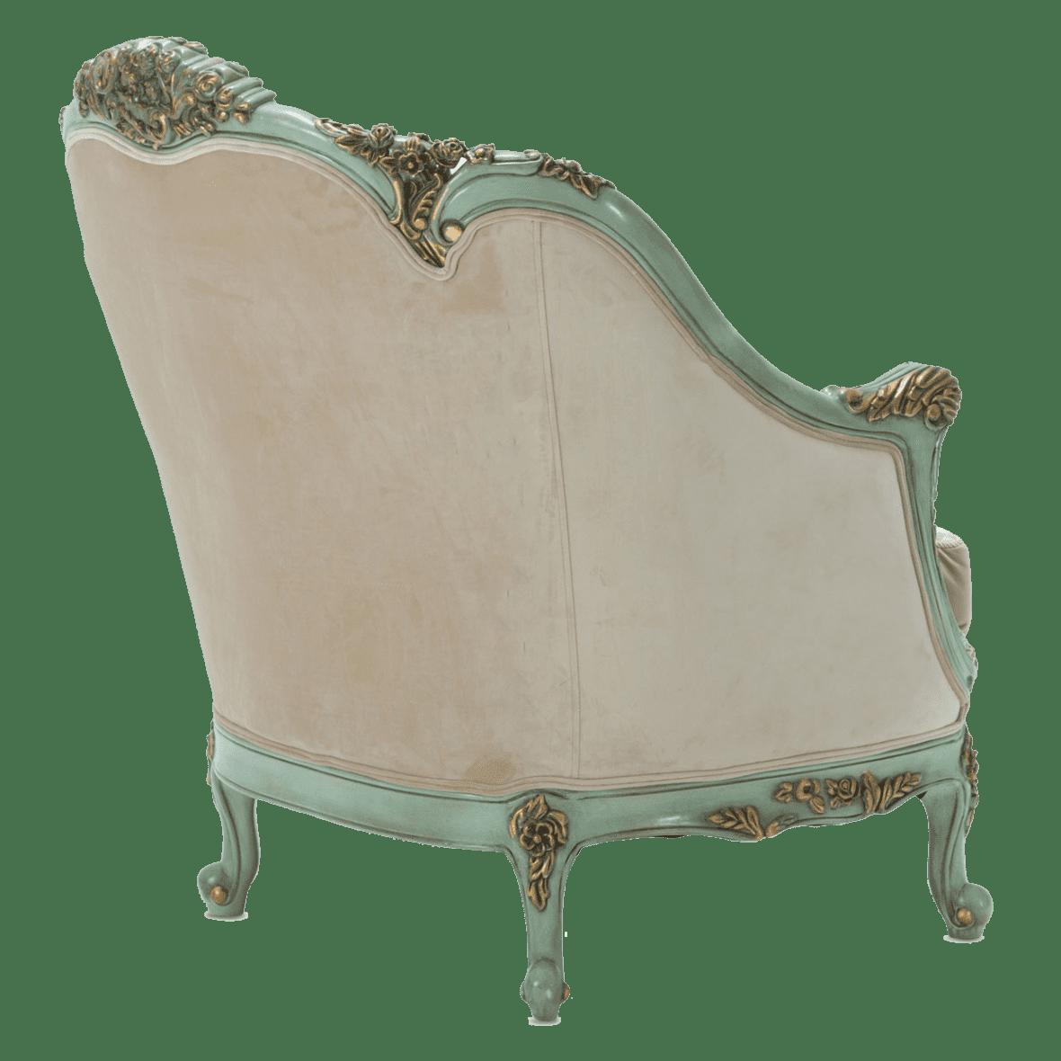 Кресло Belle Fleur Морская Волна
