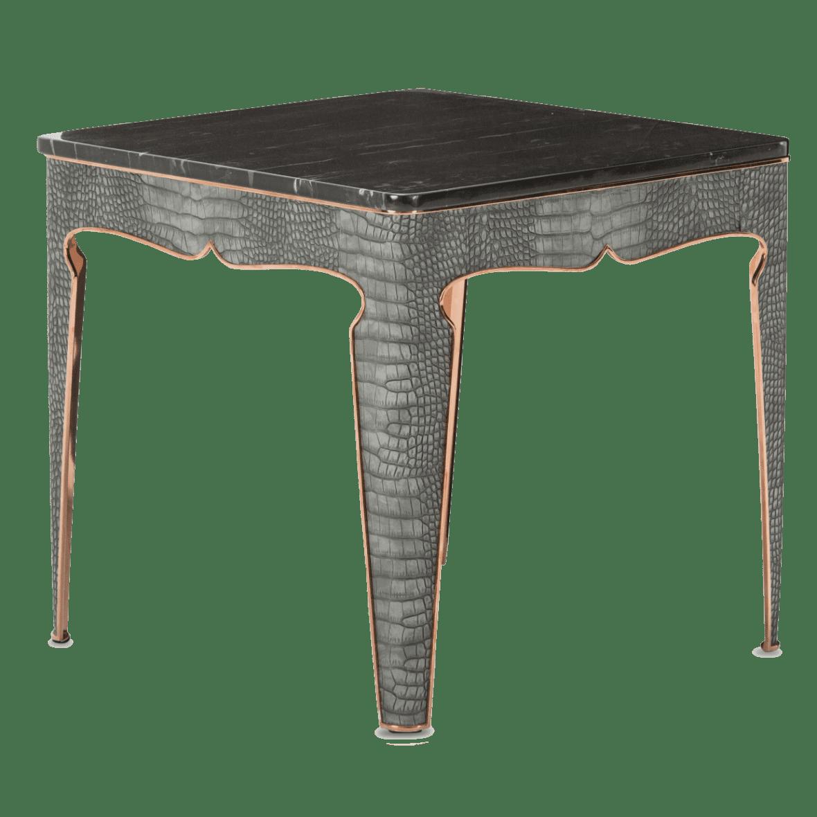 Столик под лампу Carson Rose Gold