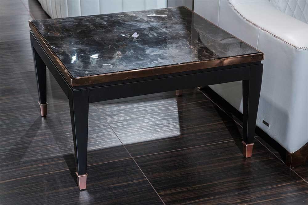 Столик под лампу с мраморным топом Durango