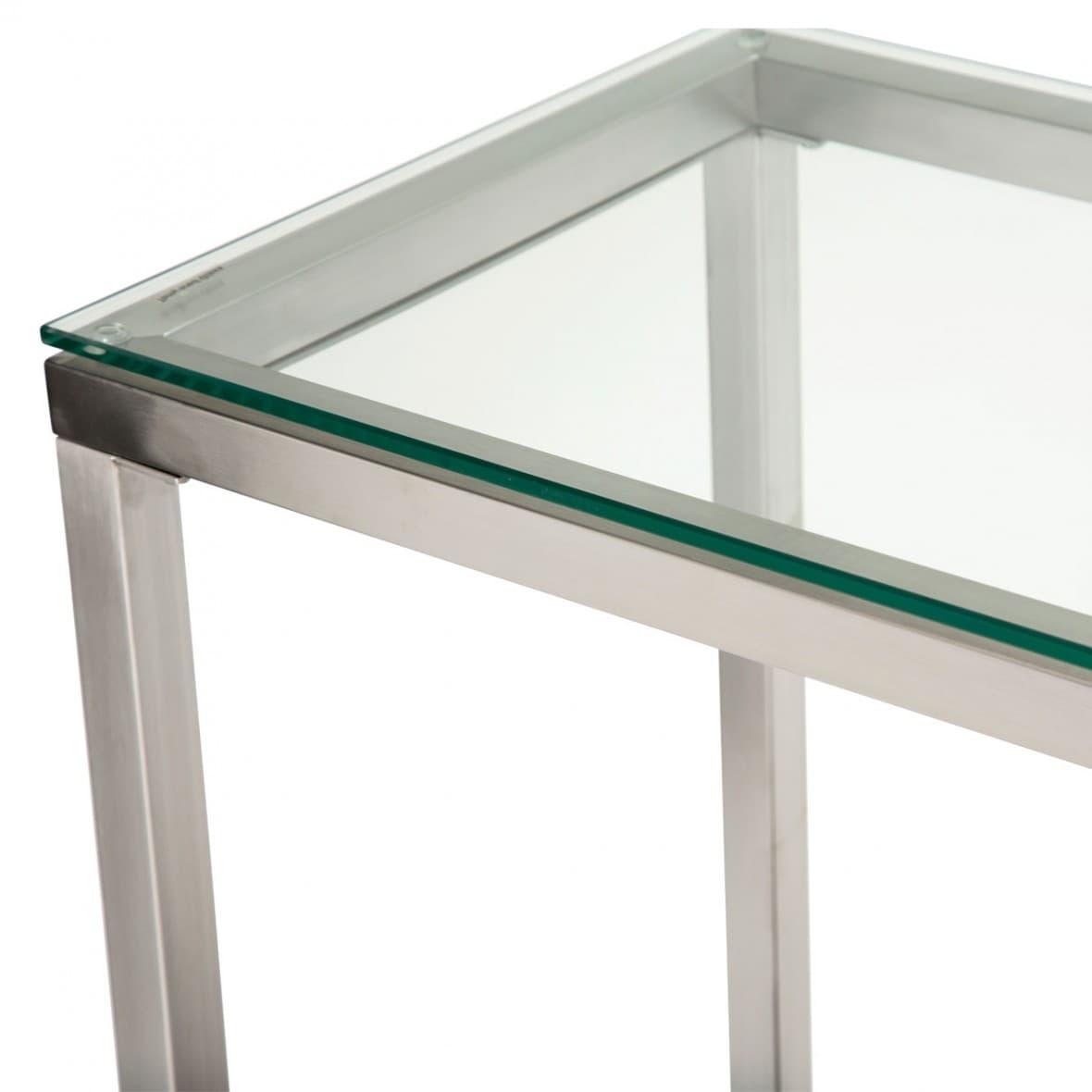Консоль Diversey, стеклянный верх
