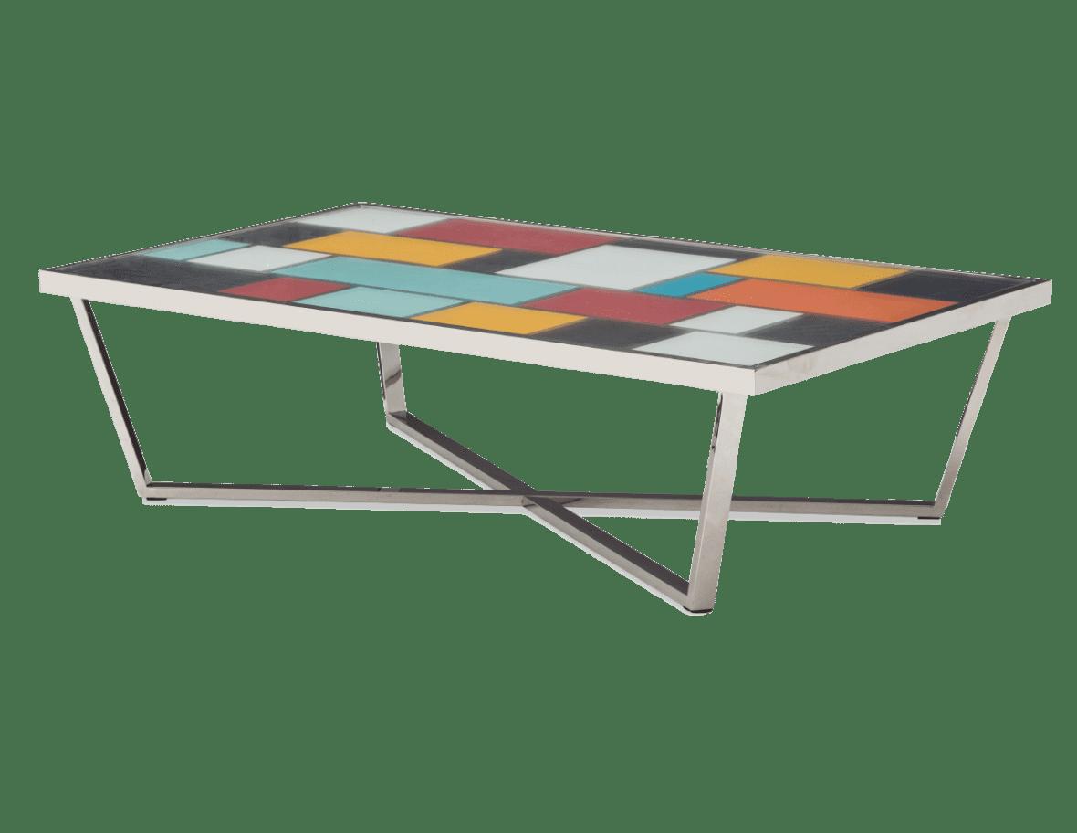 Стол журнальный прямоугольный Kube